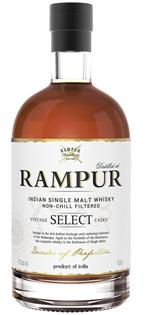 Rampur Whisky Single Malt 750ml